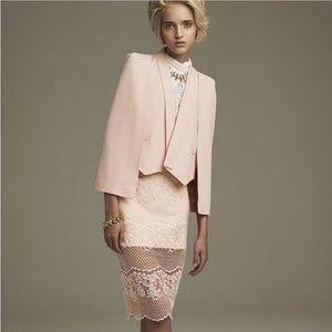 REVOLVE ELLIATT Mood Pink Lace Skirt
